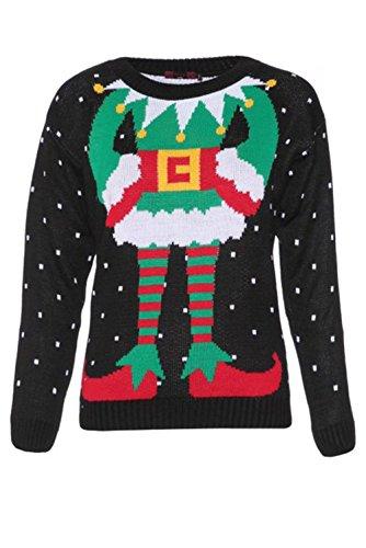 Sweaters Girls Christmas Reindeer
