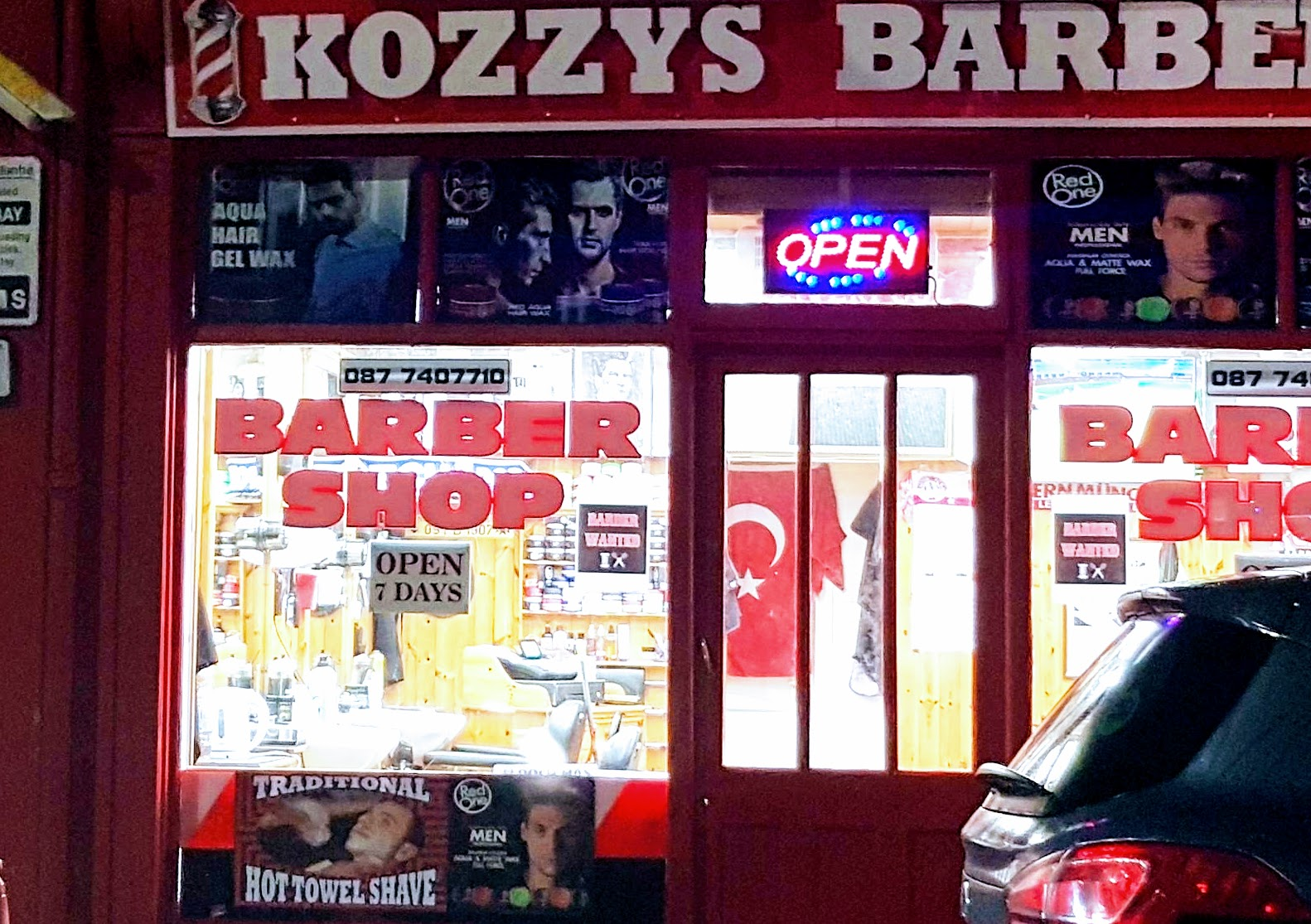 Kozzys galway city centre phone 087 7407710.