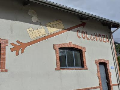蒸気機関車のトラムウェイのイラスト サン=ジェルヴェ=レ=バン・ル・ファイエ