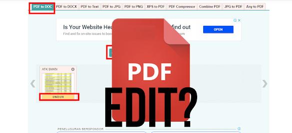 Cara Mengedit File PDF
