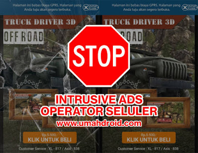 Tutorial Mengatasi Intrusive Ads Axis dan XL
