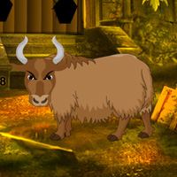 Play BigEscapeGames Fantasy Bull Land Escape