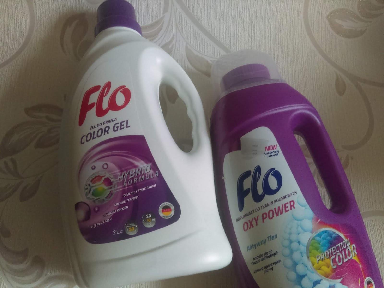 czyste pranie z Flo