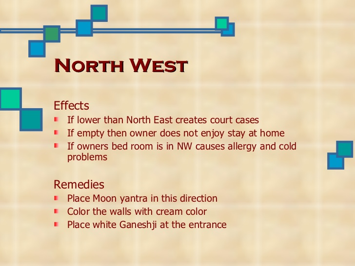 Astrology And Vastu North West Vastu Defects And Remedies