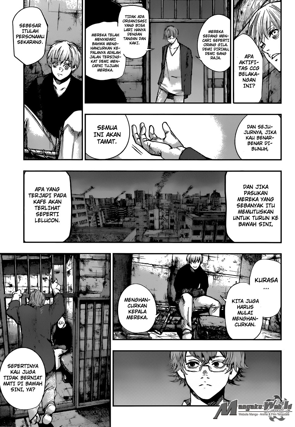 Tokyo Ghoul: Re Chapter 130-6