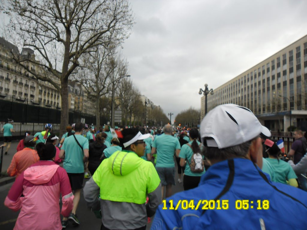 Breakfast Run Maratona de Paris