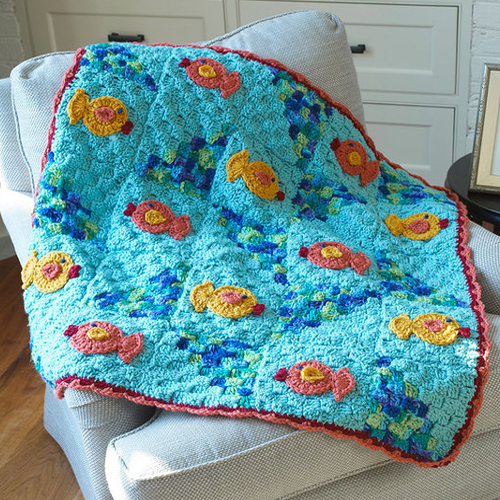 Comfort Your Kitty Throw - Free Pattern