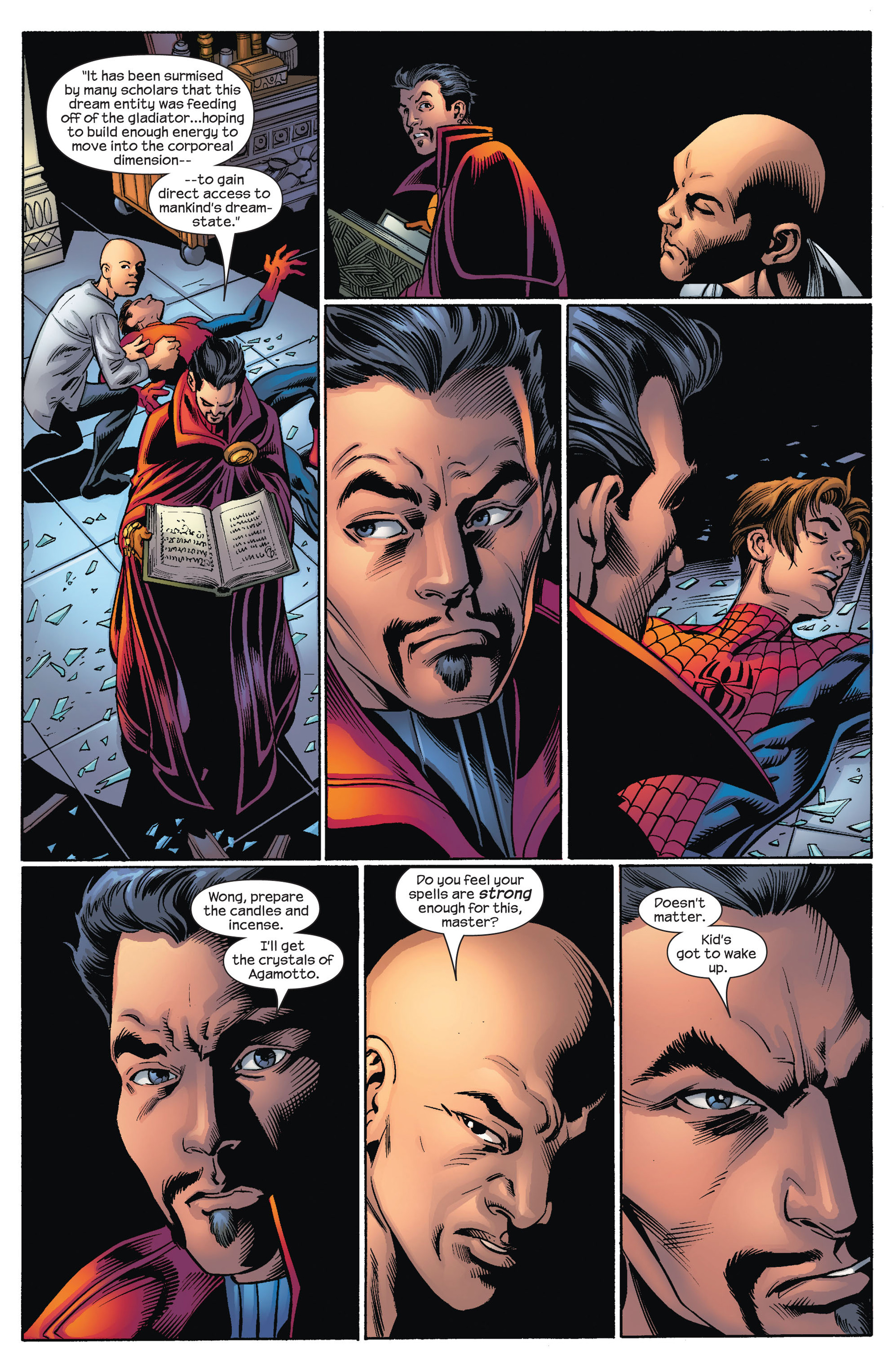 Read online Ultimate Spider-Man (2000) comic -  Issue #71 - 14