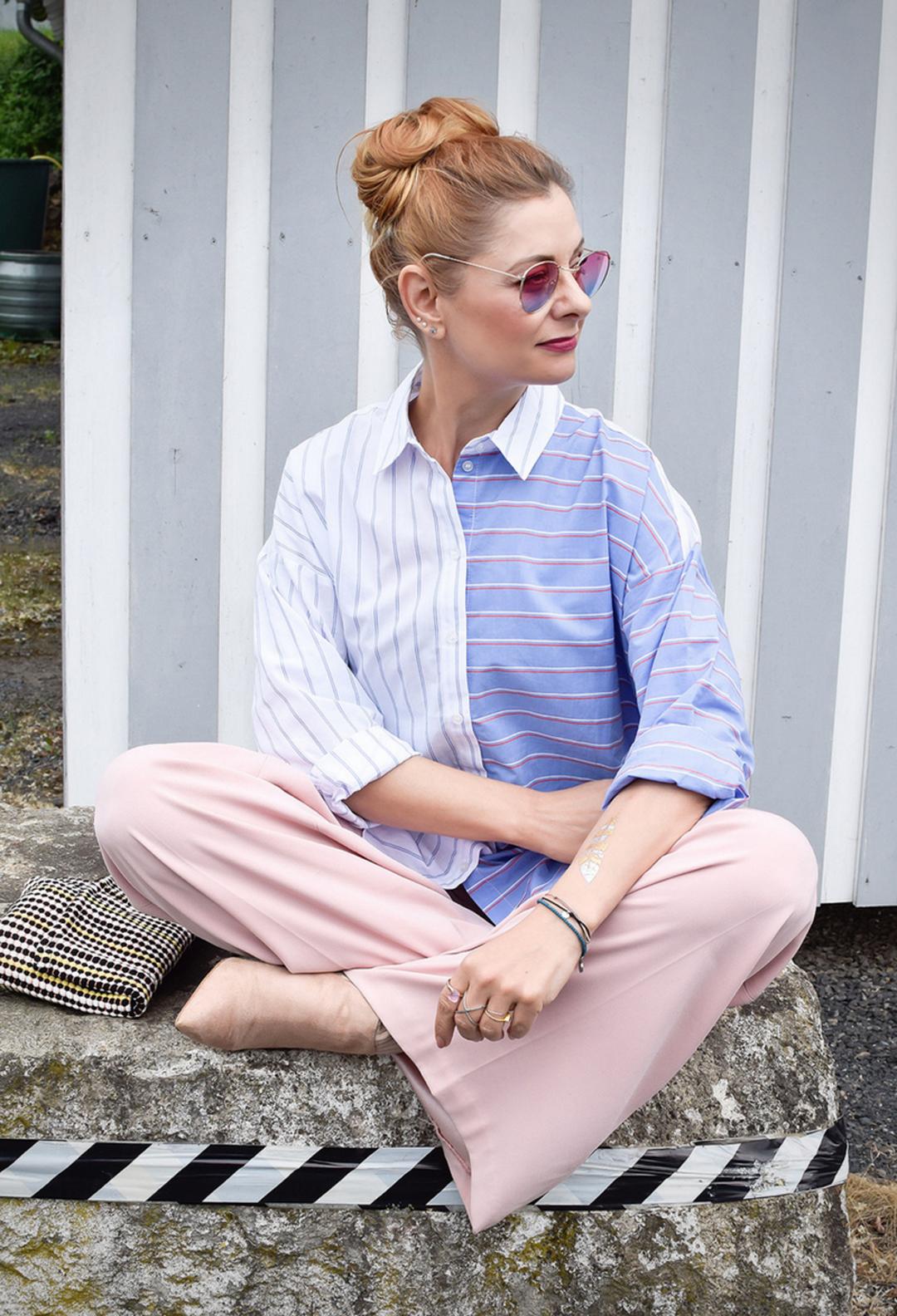 Sommerlook in Pastell, Outfit, Modeblog für Frauen über 40