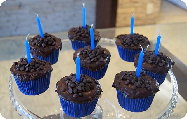 Cupcakes para Aniversário Surpresa do Namorado