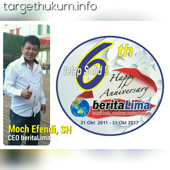 Peringatan 6th Anniversary Berita Lima Dirayakan Se- Indonesia