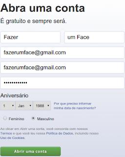 Como ter um Facebook