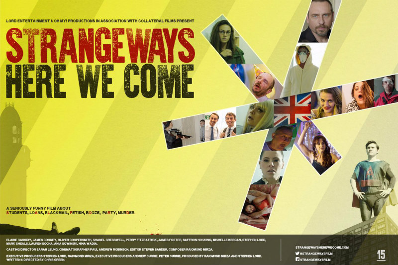 STRANGEWAYS HERE WE COME film poster
