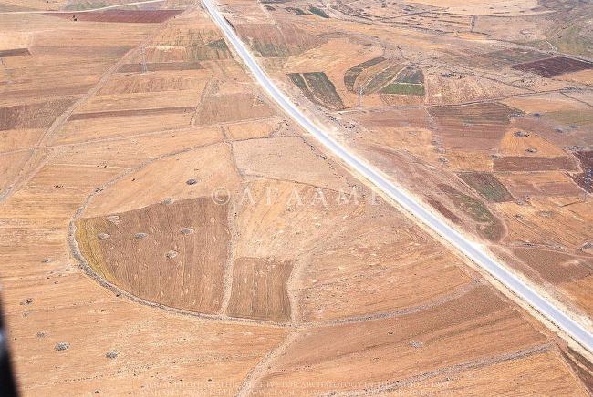 Los misteriosos círculos de Jordania