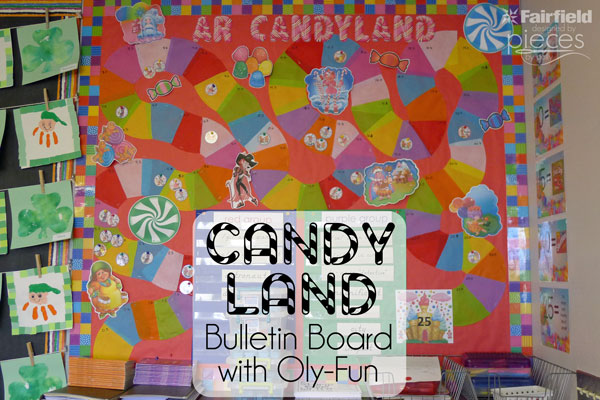 Pieces By Polly Candy Land Reading Bulletin Board With