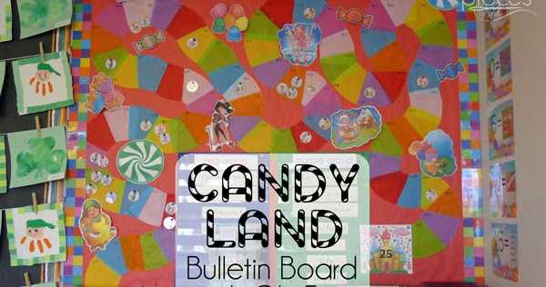 Pieces by Polly: Candy Land Reading Bulletin Board with ...