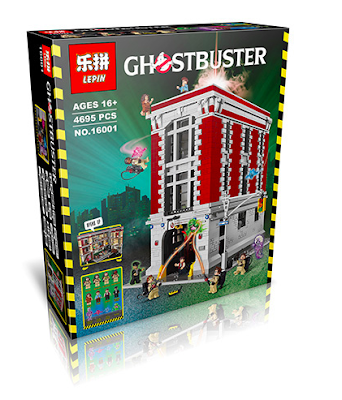 its-not-lego.blogspot.com, lepin 16001 ghostbusters
