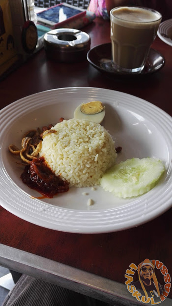 Nasi Lemak Bungkus Old Town White Coffee