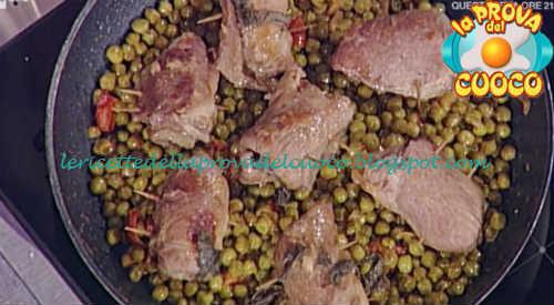 Prova del cuoco - Ingredienti e procedimento della ricetta Involtini di maiale con scamorza di Andrea Mainardi