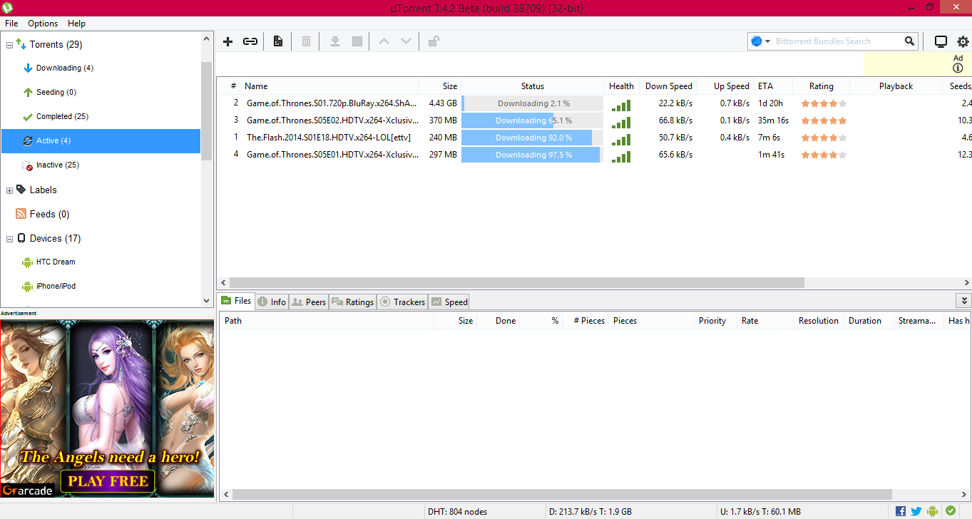 Optimize your utorrent experience (14 easy hacks).