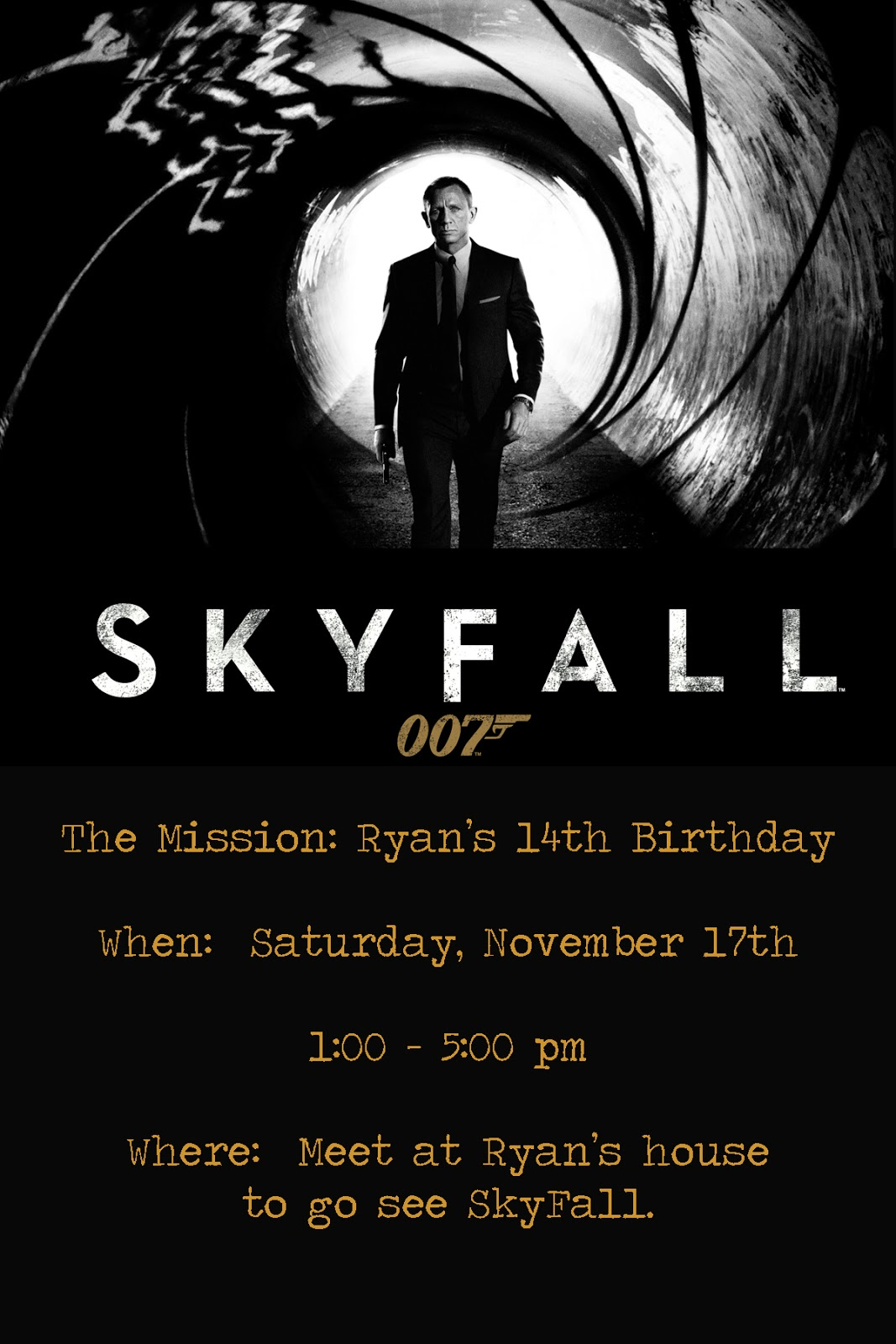 The Seal Bark: sKyfAlL biRthdAy pArTy