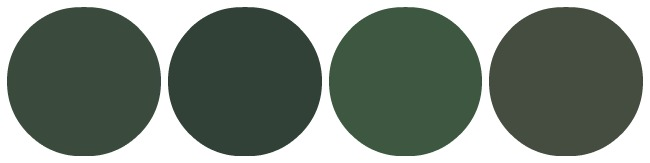 Perfect hunter green paint colors
