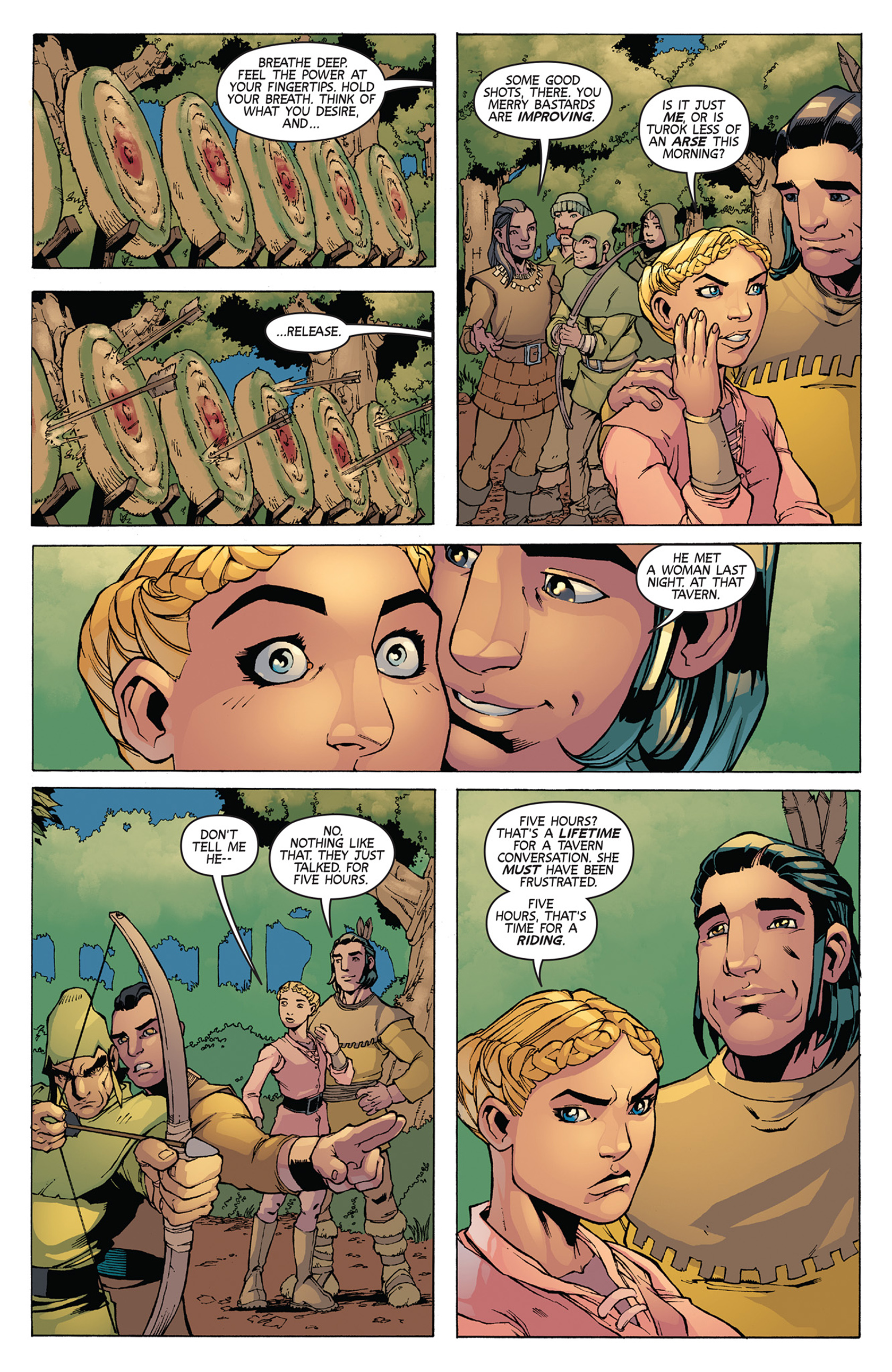 Read online Turok: Dinosaur Hunter (2014) comic -  Issue #11 - 19