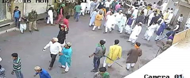 Bengali Violence Culture Stone Pelting Dhulagarh