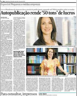 Nana Pauvolih é destaque no Brasil Econômico