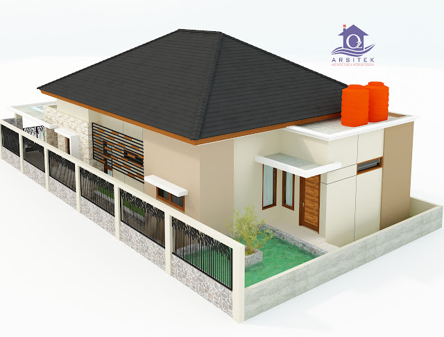 Desain Eksterior Rumah Bapak Abhy di Kendari