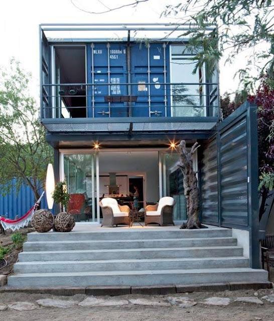 Desain Rumah Dari Kontainer