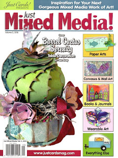 Kimberly McGuiness has artwork published in just mixed media magazine