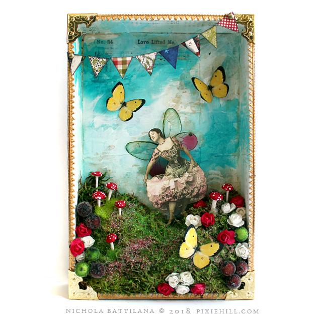 Paper Fairy Shadowbox - Nichola Battilana pixiehill.com