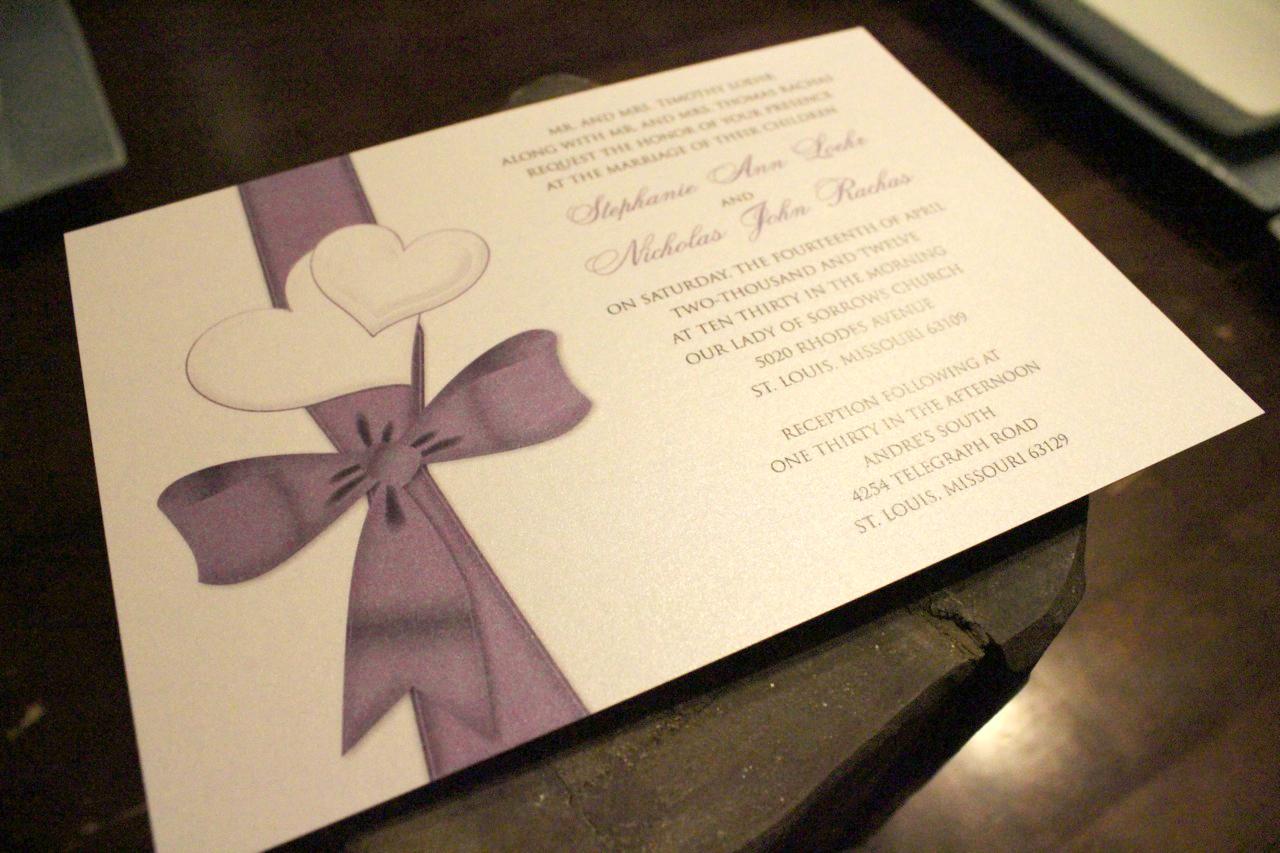 Custom Invitations St Louis Mo