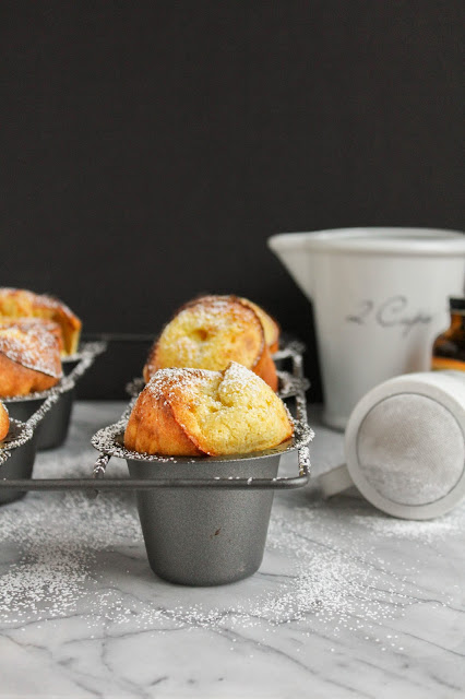 Orange Popovers | The Chef Next Door #BrunchWeek