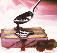 como preparar pastel helado de frambuesa