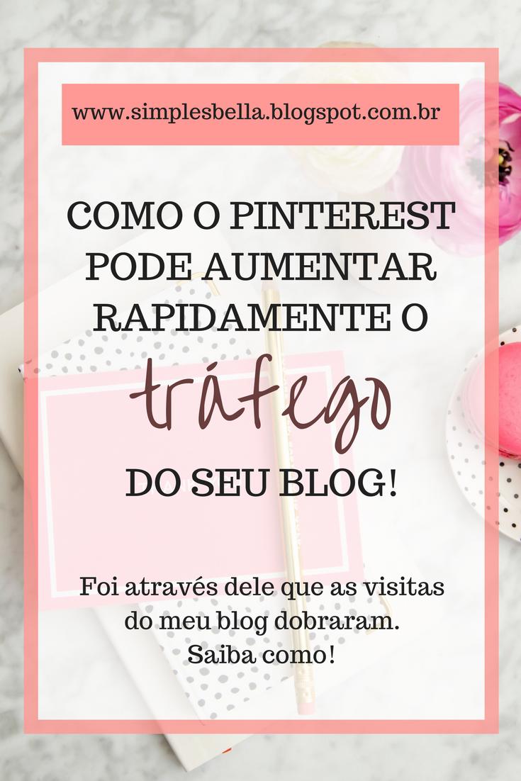 Como o Pinterest pode aumentar o tráfego do seu blog