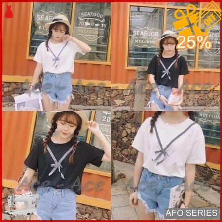 AFO313 Model Fashion April Top Modis Murah BMGShop