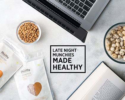 Healthy late night munchies