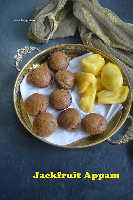 Jackfruit Appam Recipe | Chakka Paniyaram | Jackfruit Sweet Paniyaram