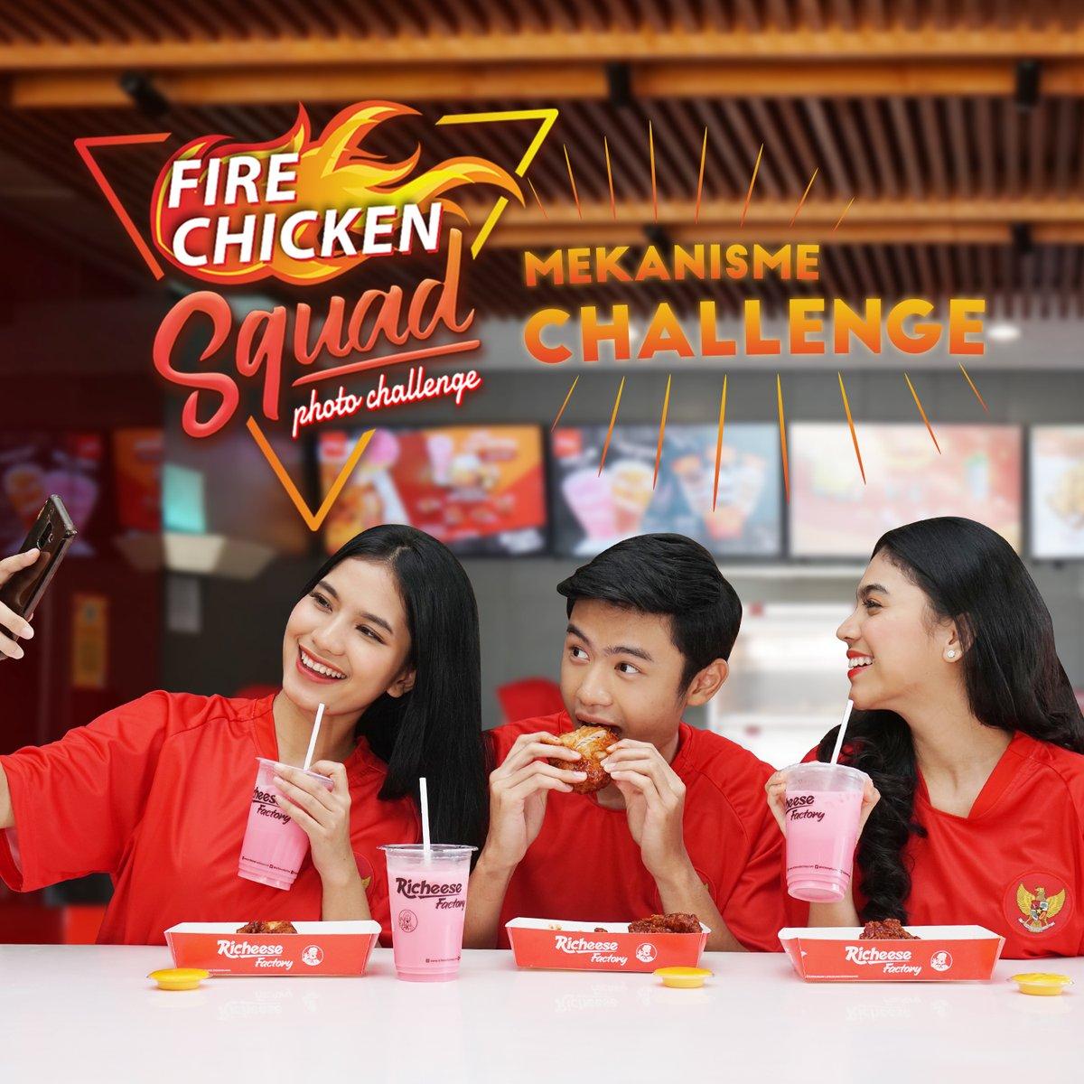 RicheeseFactory - Promo Makan 1 Tahun Ikutan Fire Chicken Challenge (s.d 16 Des 2018)
