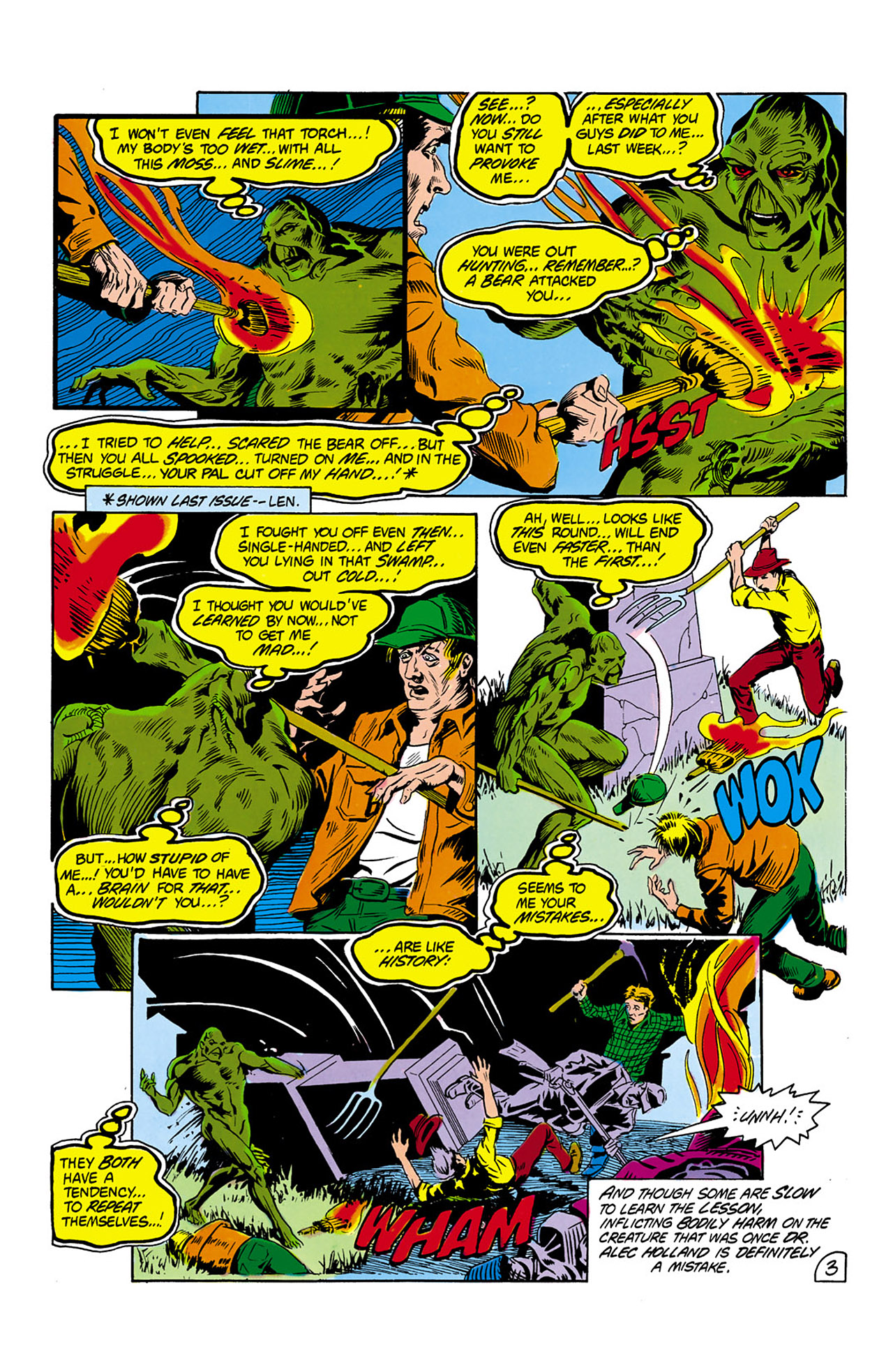 Swamp Thing (1982) Issue #2 #10 - English 4