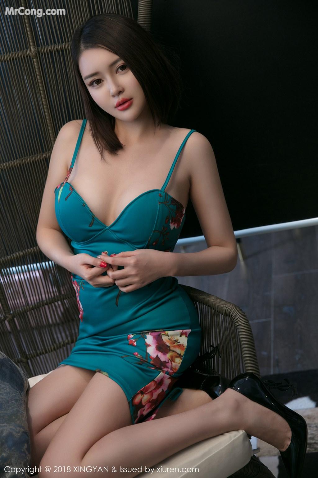 Image XingYan-Vol.028-MrCong.com-038 in post XingYan Vol.028: Người mẫu 廿十 (41 ảnh)