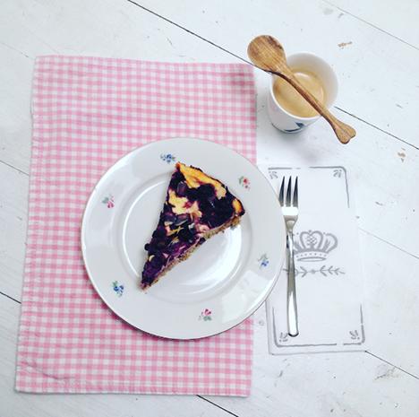 Waldheielbeertarte mit Tofencreme_My Kitchen Logbook by Marlene Grünzweil