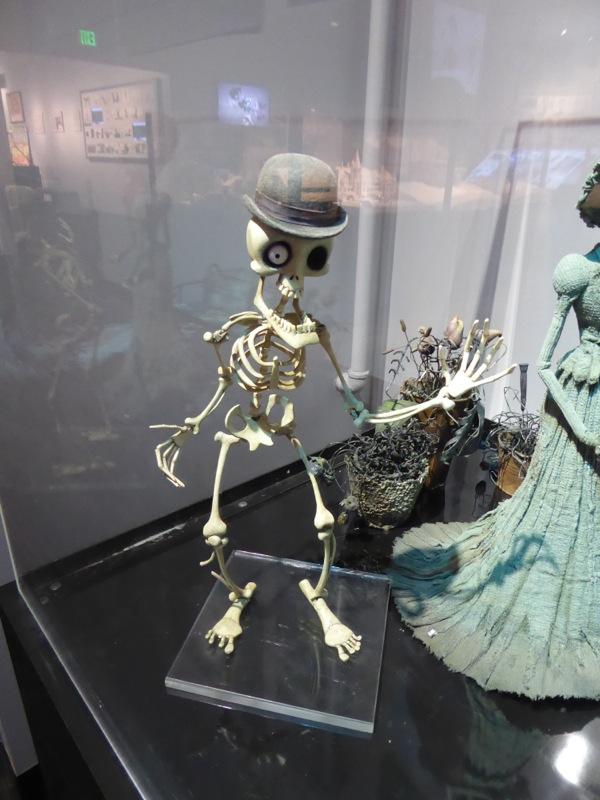 Bonejangles Corpse Bride stop-motion puppet