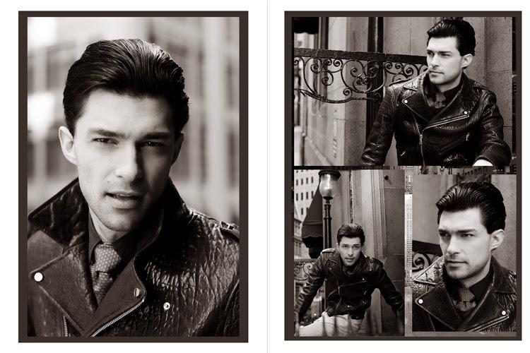 c4e4607204 O ensaio da vez rolou em Nova Iorque com o modelo Georgi Palanov e cliques  do nosso amigo e fotográfo Andre Watson. Na produção