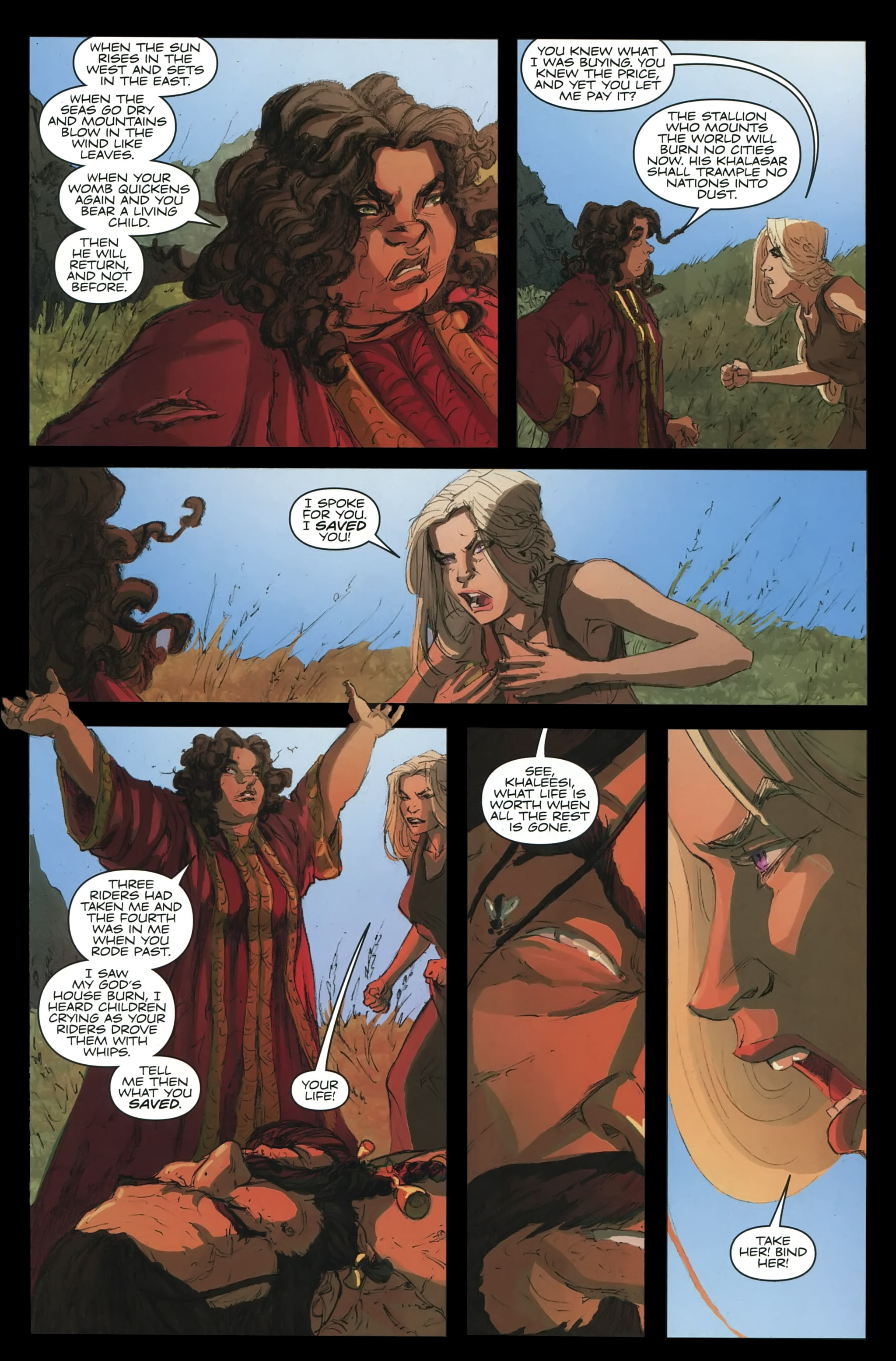 Read online A Game Of Thrones comic -  Issue #23 - 29