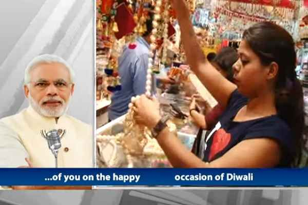 Man Ki Baat, PM Modi dedicates Diwali to Army