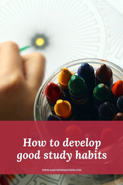 Useful tips to develop good study habits in children