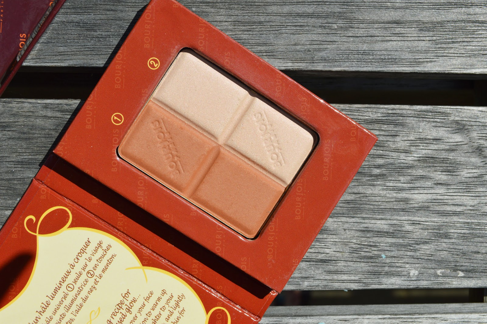 Bourjois Bronzing Powder+highlighter